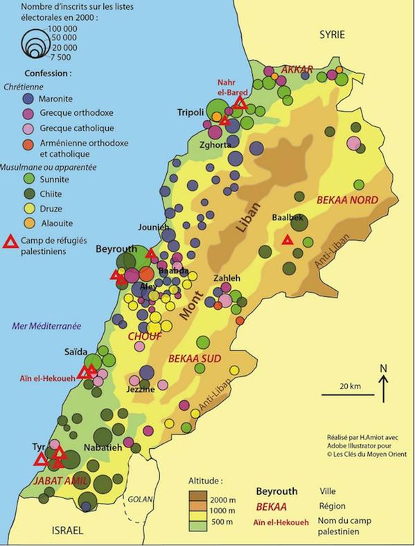 liban geographie